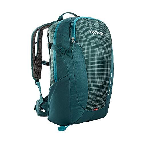 Tatonka Wanderrucksack Hiking Pack 20l mit Rückenbelüftung und Regenschutz - Leichter, bequemer Rucksack zum Wandern mit RECCO-Reflektor - Damen und Herren - 20 Liter - teal green