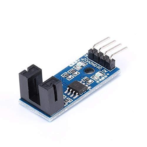 10 pcs 4 PIN IR Infrared Speed Sensor Module Groove Coupler Module For Arduino 33V-5V