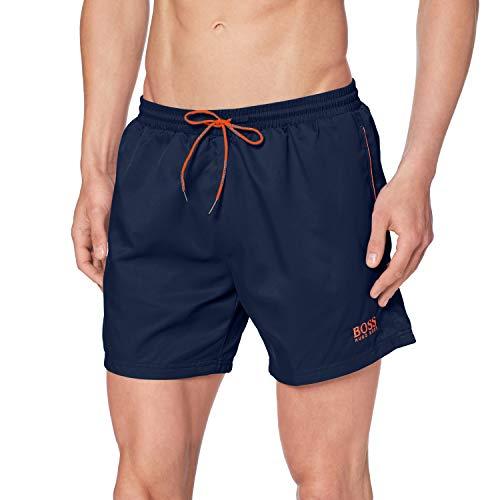 BOSS Herren Dogfish Boardshorts, Navy413, S