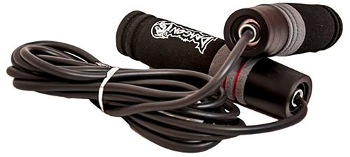 Dragon Do Jump Rope Ideal for MMA, Kickboxing, Gym, Fitness, Workout -Steel, Leather, Weighted Jump Rope (Basic)