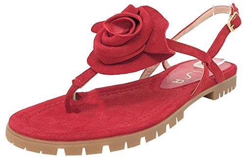 Unisa Chester_KS Rot Damen Sandalen, Rot - rot - Größe: 37 EU