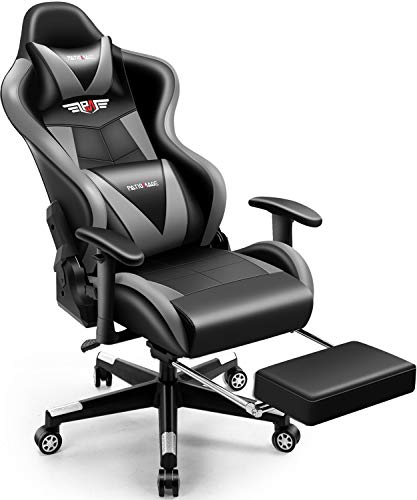 Gaming Chair,PatioMage Office Chair Racing Office Chair Desk Chair Headrest...