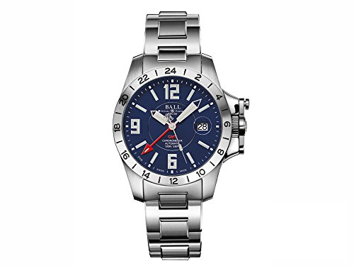 Ball Engineer Hydrocarbon Magnate GMT Uhr, COSC, GM2098C-SCAJ-BE