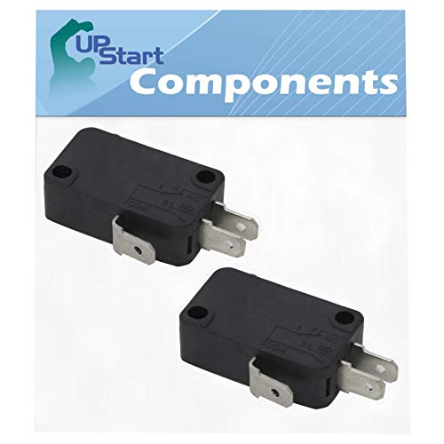 2-Pack W10269458 Microwave Door Switch Replacement for KitchenAid KHMC1857BBL0 - Compatible with W10269458 Door Switch