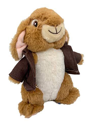 Peter Rabbit Peluche de Peter Conejo y Amigos, 22 cm + Original Peluche Conejo de peluche película DVD 2021 Conejo de Pascua Regalo Conejos para niños Pascua Decoración de Pascua (Bejamin Kani