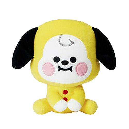 HughFan Kpop Plschtier, Tata/Koya/Van/Shooky/Chimmy/Cooky/Mang/RJ Kissen Puppe Plsch Puppen Spielzeug, 20cm(Chimmy)