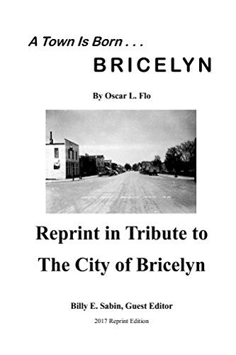 A Town Is Born: In Tribute to the City of Bricelyn (English Edition)