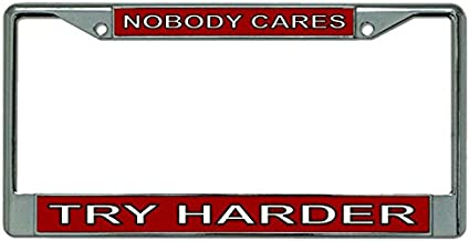 Best nobody cares try harder Reviews