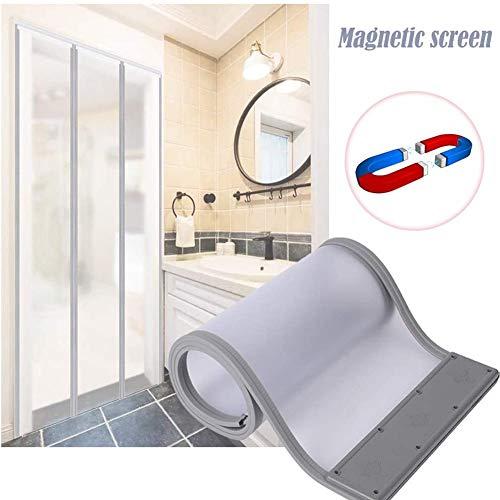 Magnetischer Schirm-Türvorhang, Insektenschutzmittel Und Moskitodichte Tür-Schirm-Vorhang, Sommer Anti-Mücken Und Fliegen Sichere Türvorhang (2.25m high,45cm wide)