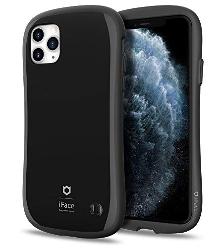 iFace First Class Designed for iPhone 11 Pro Max – Cute Shockproof Dual Layer [Hard Shell + Bumper] Phone Case [Drop Tested] - Black
