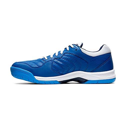 Asics Gel-Dedicate 6, Tennis Shoe Hombre, Azul Blanco, 42.5 EU