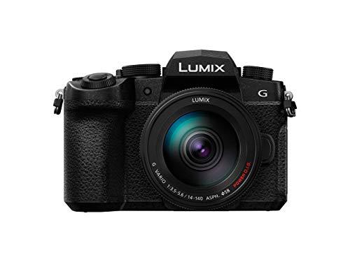 Panasonic Lumix G90H | Appareil Photo Hybride Tropicalisé + Objectif Lumix 14-140mm (Capteur 4/3 20MP, Double stab., Viseur OLED, Écran orient. tact. OLED, 4K illim., Vlog-L) Noir – Version Française