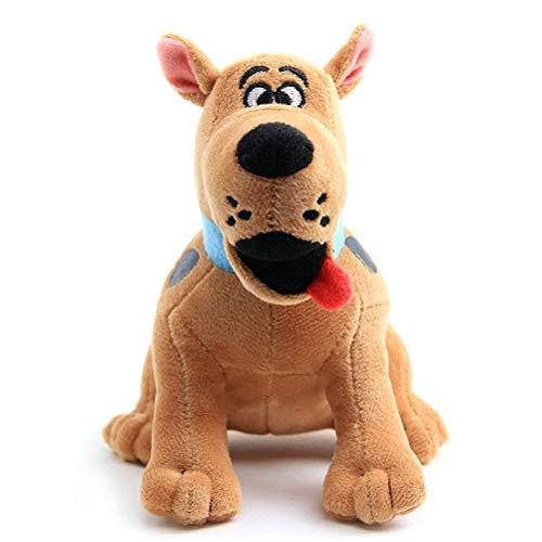 Auplew 18CM Peluche Scooby-Doo Muñeca Suave Mastín Muñecas para perros Abrazo Juguete de juguete Regalo para niños Niños