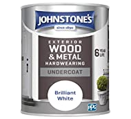 High gloss finish Resistant to blistering, cracking and peeling Suitable for exterior wood and metal Model number: 303908