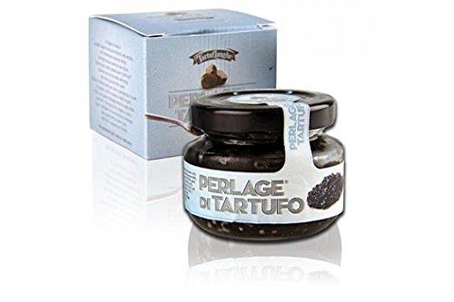 Tartuflanghe - PERLAGE DI TARTUFO NERO perle di succo di tartufo nero pregiato (Tuber melanosporum) 50g