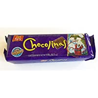 Galletitas CHOCOLINAS de Chocolate de BAGLEY. Las autenticas galletitas Argentinas.