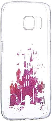 """Preisvergleich Produktbild Samsung Galaxy S7 Hülle von licaso® aus TPU schützt Dein S7 5,1"""" Castle Schloss Disney Schutz-Hülle transparent klare Schutzhülle Tasche Silikon Style (Samsung Galaxy S7"""
