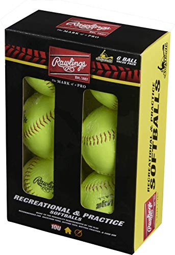"""Rawlings YWCS11-BOX6 Ywcs11-11"""" Official League Recreational Fastpitch"""