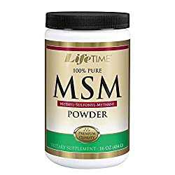 LIFETIME 100% PURE MSM (METHYLSULFONYLMETHANE) POWDER