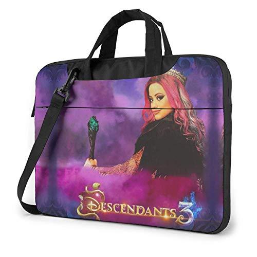 Whecom Descendants 3 Audrey 14 Inch 13-inch 14-inch Laptop Bag 15.6-inch Laptop Shoulder Messenger Bag Handbag