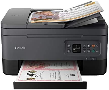 Canon TR7020 All In One Wireless Printer For Home Use Black product image