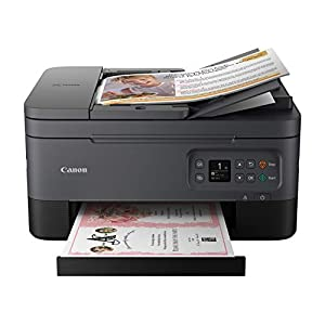 Canon TR7020 All-In-One Wireless Printer For Home Use,Black