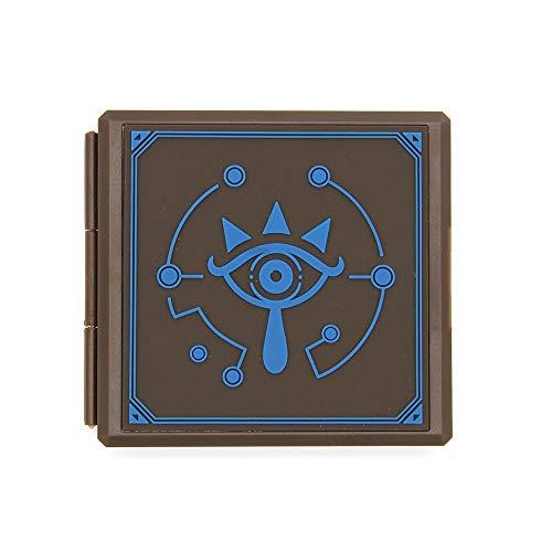 CellDesigns Cartoon Game Memory Card Case for Nintendo Switch (Zelda Eye Symbol)