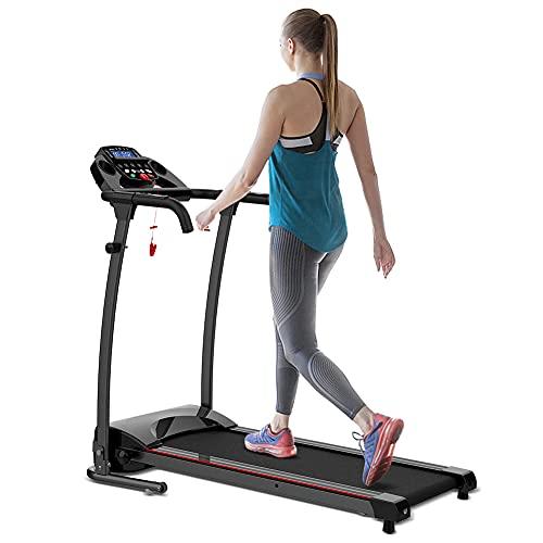 REDLIRO Folding Walking Treadmill for Home Electric Jogging Walking Running...