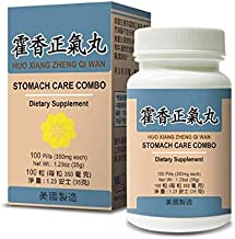 Huo Xiang Zheng Qi Wan Herbal Supplement Helps For Promote a Healthy Digestive System During Cold or Flu 350mg 100 Pills USA