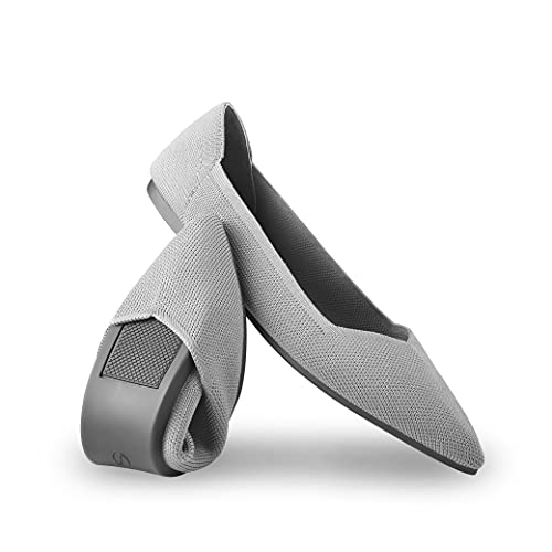 Top 10 best selling list for comfortable flat grey pointy shoes