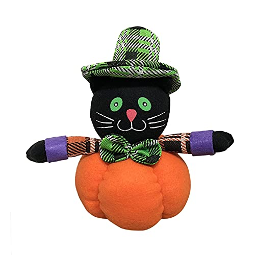 Juguete De Peluche De Halloween, Bruja, Muñeco De Nieve, Muñeca De Calabaza De Halloween para Decoración De Halloween De Jardín Interior Al Aire Libre