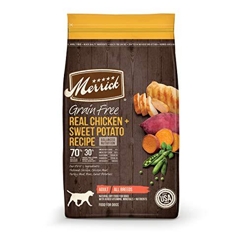 Merrick Grain Free Dry Dog Food Real Chicken & Sweet Potato Recipe - 22 lb. Bag