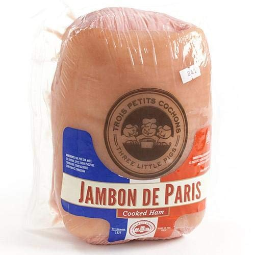 Petit Jambon de Paris - 6 lb -made with Amish pork, delicately spiced, slowly cooked in its own juice, and wrapped in its skin