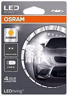 OSRAM W5W (501) 12V 0,5W W2.1x9.5d LEDriving Amber 2880YE-02B double blister (Pack of 2)