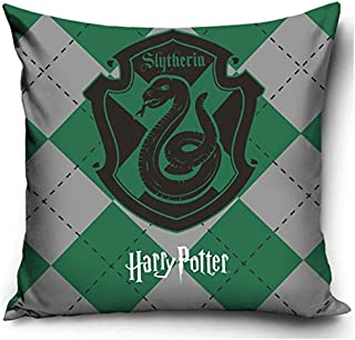 Wizarding World Harry Potter Cojín decorativo relleno 40 cm x 40 cm, 40 cm x 40 cm