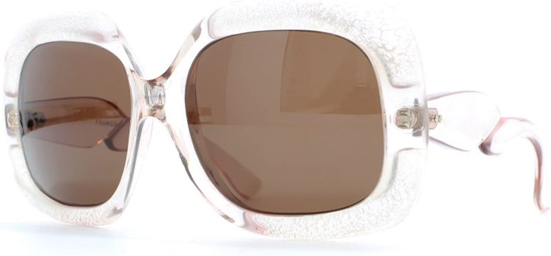 Euro Vintage NM22 CLR Clear Authentic Women Vintage Sunglasses