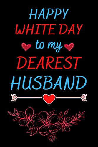 Happy White day to my Dearest Husband: Notebook for white day . Best gift idea . Japanese notebook for writing . Happy S.t Valentine's Day