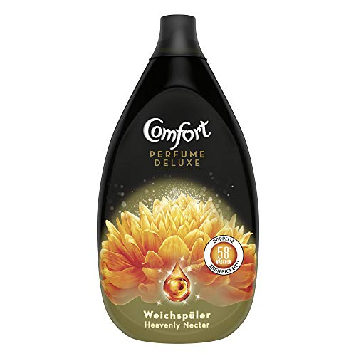 Comfort Perfume Deluxe Heavenly Nectar (ultrakonzentrierter Weichspüler 58 Waschladungen), 1er Pack (1x 870 ml)