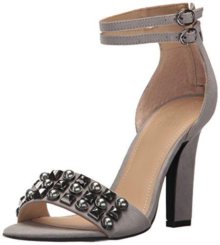 Sandali da donna con tacco., Grigio (grigio.), 39 EU