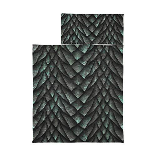Schlafsäcke für Kinder Mädchen Chinese Dragon Scale Metallic Textur Nap Mat Mat Boy Weiche Mikrofaser Leichte Roll Up Nap Mat für Kleinkinder Perfekt für Vorschule, Kindertagesstätte und Übernachtun