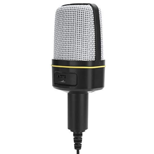 Karaoke-Mikrofon, Live-Karaoke, hochwertige SF920-, High-Fidelity- und geräuscharme Gesangsausrüstung, geeignet für PC-Laptops, für Amateurbenutzer zum Singen und Chatten