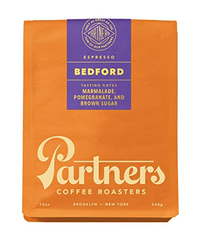 Partners Coffee, Coffee Bedford Blend Espresso, 12 Ounce