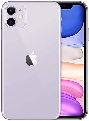 Apple iPhone 11, 128GB, Purple - Fully Unlocked (Renewed)