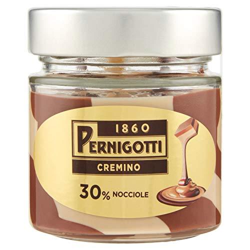 Pernigotti Crema Cremino, Crema Spalmabile Con Il 30% Di Nocciole E Il 15% Di Cacao Gianduia, Senza Olio Di Palma, Senza Glutine, Vasetto Da 200G. - 200 g