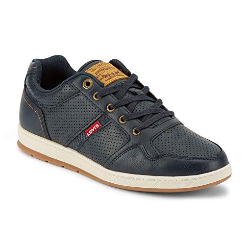 Levi's Mens Oscar 2 Millstone Perf Rubber Sole Casual Sneaker Shoe