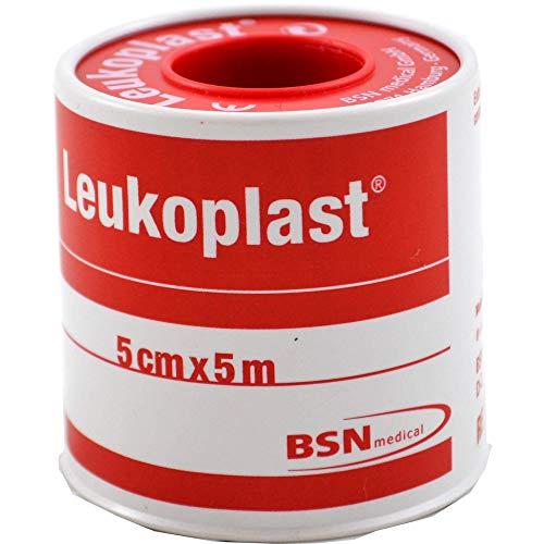 Leukoplast Fixierpflaster 5 cm x 5m, 1 St. Pflaster
