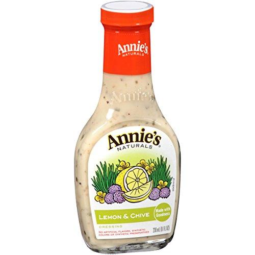 Annie's Natural Lemon & Chive Dressing 8 fl oz Bottle