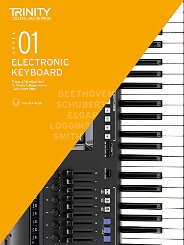 Trinity College London Electronic Keyboard Exam Pieces & Technical Work...
