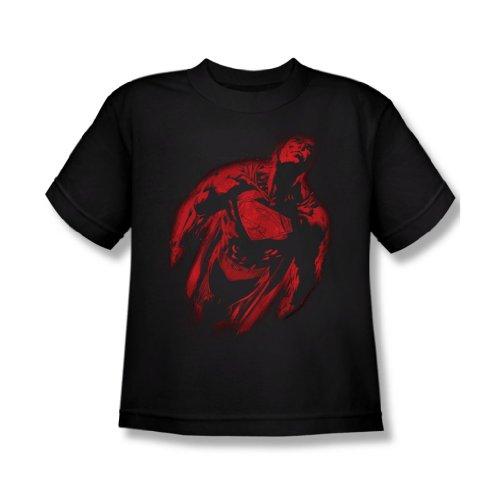 Superman - Spritzbeton Supes Jugend T-Shirt in schwarz, Large (14-16), Black
