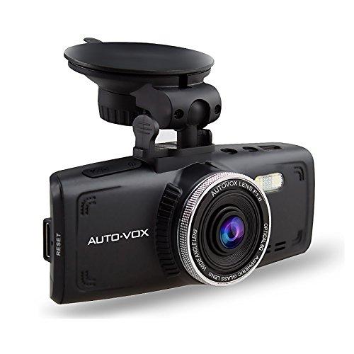 Dash Cam AUTO-VOX D1 Car Recorder Full HD 1080P 2.7'' DVR Dashboard Camera with Super Night Vision, G-Sensor & Loop Recording Free 32G Mirco Card